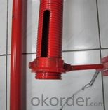 Galvanized pipe support props construction steel prop