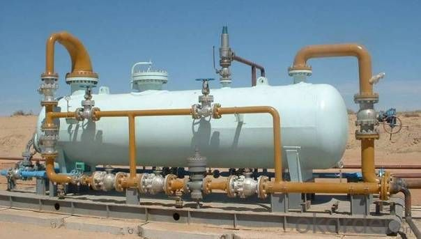 High Efficiency Three-phase Separator Using in Oil, Gas and Water