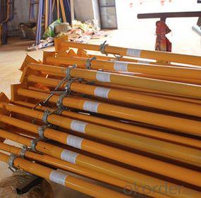 steel Props Scaffolding/painted surface steel prop/ shoring prop