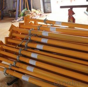 steel Props Scaffolding/painted surface steel prop/ shoring prop
