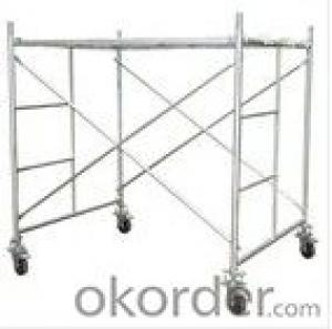 1219*1700 OEM Steel Scaffolding Frames/Portable Scafolding/Adjustable Work