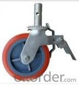 Best price High quality heavy duty rubber steel scaffold caster