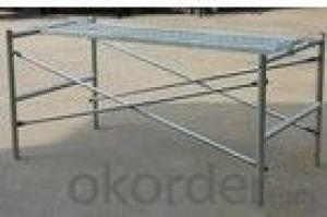 steel scaffolding frames/adjustable work
