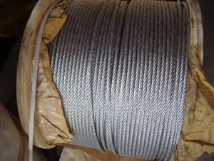 High Quality Round Strand Steel Rope with Quality Carbon Steel