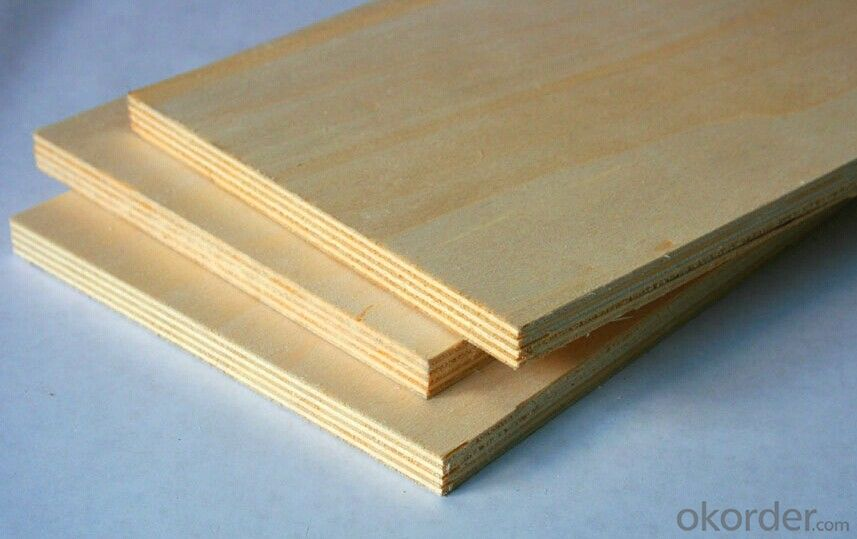 Construction plywood in 500-630kgs/cbm with First Class Quality