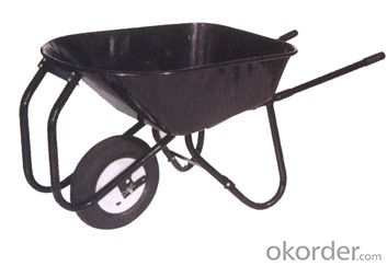 Wheel Barrow   WB8600 with  of  Construction