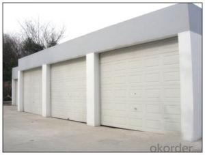 Automatic Rolling Sectional Garage Door for  Overhead Use