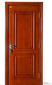 GOOD QUALITY WOODEN DOOR WITH ISO CERTIFICATES