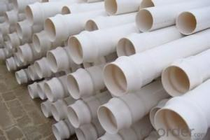 pvc pipe 0.63-2.0MPa Material PVC Specification: 16-630mm Length: 5.8/11.8M Standard: GB