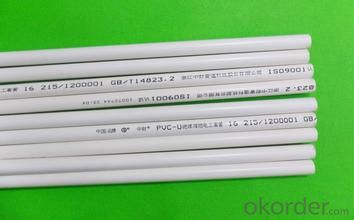pvc pipe ISO14001 Material PVC Specification: 16-630mm Length: 5.8/11.8M Standard: GB