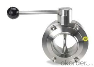butterfly valve Stainless Stee 304/316lSize: DN40-DN1200 Place of Origin: China (Mainland)