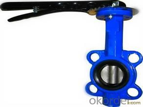 butterfly valve  Ductile Iron Structure: Butterfly Pressure: Low Pressure