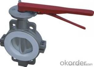butterfly valve Cast IronStandard Structure: Butterfly Pressure: Low Pressure