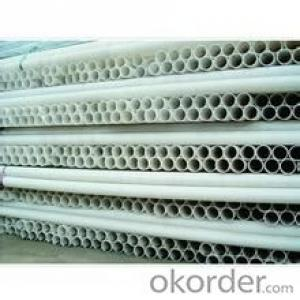 pvc pipe resist electro n chemical corrosionLength: 5.8/11.8M Standard: GB