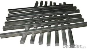 Tungsten carbide strip for machine tools