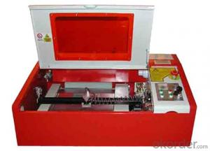 Mini CNC Laser Engraving Machine for Granite Photo