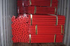 High load cup lock pin lock Scaffolding for steel Slab Supporting and Doceration