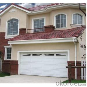 Automatic Rolling  Sectional Garage Doors  for  New Design