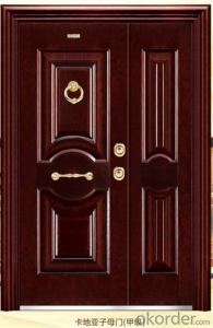 exterior steel security door with best quality