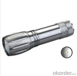new design Made in China adjustable focus zoomable flashlight Led