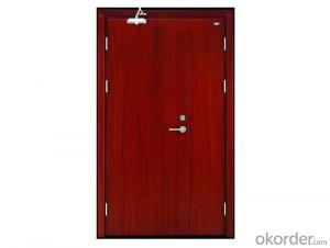 exterior steel fireproof door with different design