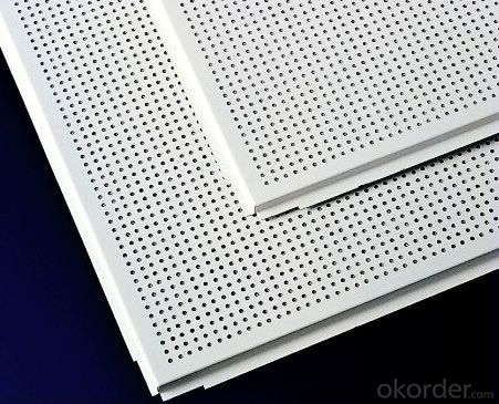 Lay in Perforated Aluminum Ceiling Panels and Aluminum Sheet