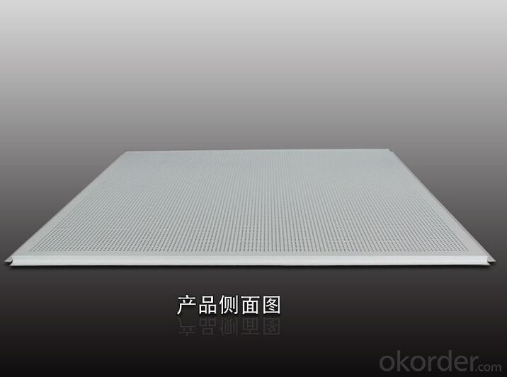 Lay in Perforated Aluminum Ceiling Panels 600*600*0.6MM