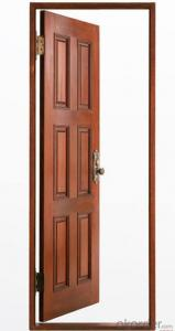 Green Environmental Protection and Painting WOODEN DOOR