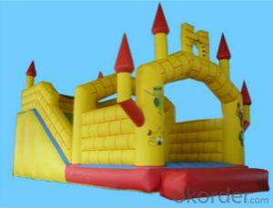 PVC fresh air combos,colorful and slippery inflatable combos for kids