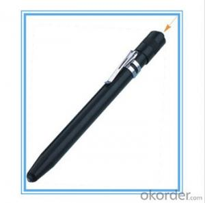See larger image Cheap flashlight pens with 3 AAA batteries