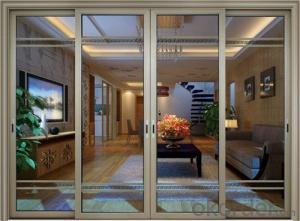 factory price aluminium heavy duty glass sliding door