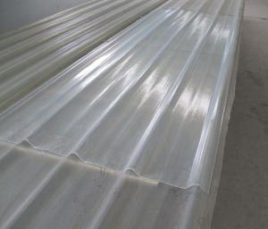 High strength Transparent corrugated FRP/GRP panel