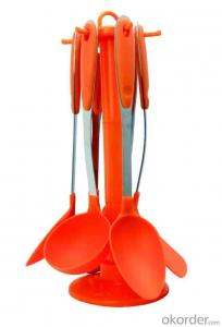 Kitchen Utensils Set-Colorful Nylon kitchen tools set