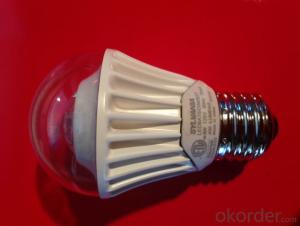 factory price led bulb 9w e27 high quality