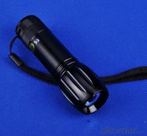 High quality 1W high power flashlight cree