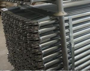 Hot Dipped Galvanized Ringlock Scaffold On Sales