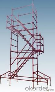 steel Ringlock scaffolding for constrution