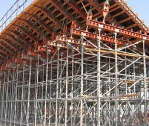 scaffolding with galvanized surface for sale