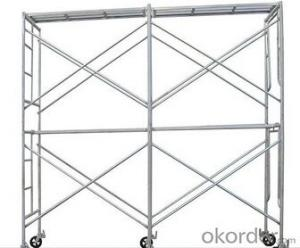 Dip Painted Steel H Frame Scaffolding good quality