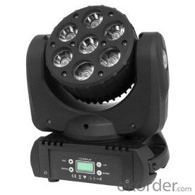 YM-1306 7x12W LED  BEAM(4 IN 1 LED)MOVING HEAD