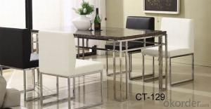 Modern  crtstal dinning chair and desk sets CMAX-15