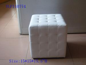CNBM materials leather PU Ottoman CMAX-14