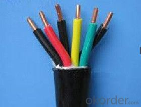copper conductor jacket flexible  rubber cable