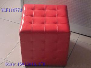 CNBM materials leather PU Ottoman CMAX-19