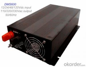 DC/AC Solar Power Inverter/ DC AC Inverter 600W High Efficiency 12V/24V/36V/48/120V Input