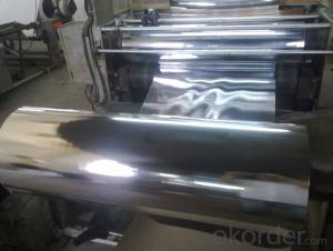 Packing and Lamination Film-7mic Aluminum Foil/15mic Polyethylene