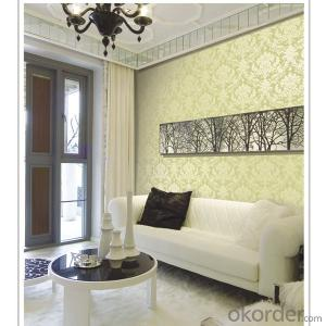 new designed PVC embossed wallpaper factory