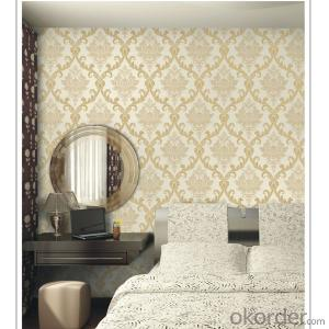 European Designer New Deep Embossed PVC Wallpaper