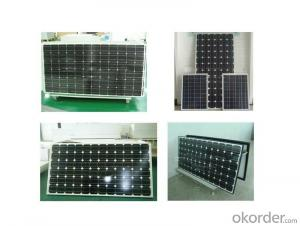 Monocrystalline 100W solar module ,solar panel for home use