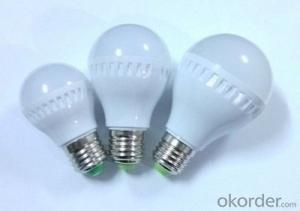 LED bulb light CRI80, 60W incandescent replacement, UL